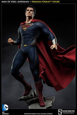 Man of Steel Estatua Premium Format 1/4 Superman 55 cm