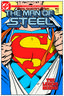 DC Comics Steel Covers Dibón metálico DC Superman Comics MOS Vol. 1 #1 1986 17 x 26 cm