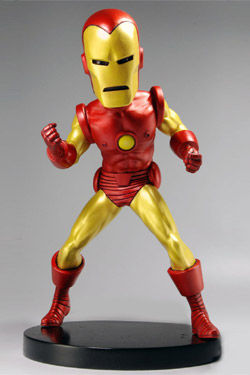 Marvel Classic Cabezón Extreme Head Knocker Iron Man 20 cm