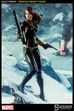Marvel Estatua Premium Format 1/4 Black Widow Natasha Romanova 48 cm