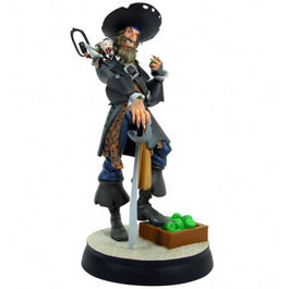 ANIMATED CAPTAIN BARBOSSA MAQUETTE