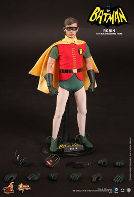 MMS219 Batman: Robin (1966 Film) DC Comics Sixth Scale Figure MMS219