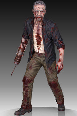 The Walking Dead Estatua 1/4 Merle Dixon Walker 41 cm