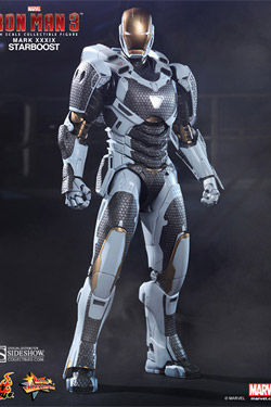 MMS214 Iron Man Mark XXXIX : Starboost Marvel Sixth Scale Figure