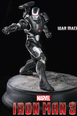 Iron Man 3 Maqueta 1/9 War Machine 20 cm