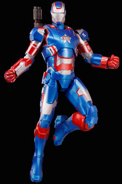 Iron Man 3 Maqueta 1/9 Iron Patriot 20 cm