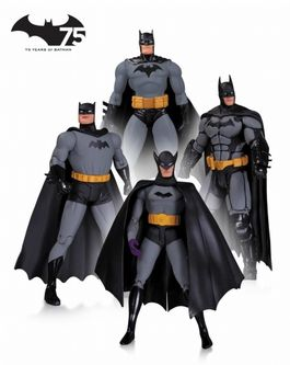 Batman: 75th Anniversary Action Figure 4 Pack Set 1