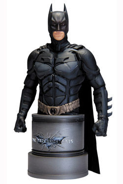 BATMAN THE DARK KNIGHT RISES  BUSTO 17 CM