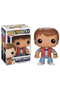 Regreso al Futuro POP! Vinyl Figura Marty 10 cm