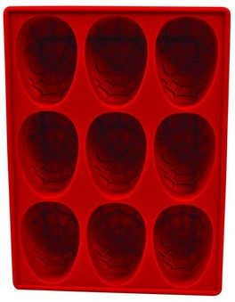Marvel Spider-Man Silicone Ice Cube Tray