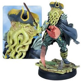 ANIMATED DAVY JONES MAQUETTE