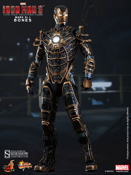 Iron Man 3 Figura Movie Masterpiece 1/6 Iron Man Mark XLI Bones 30 cm MMS251