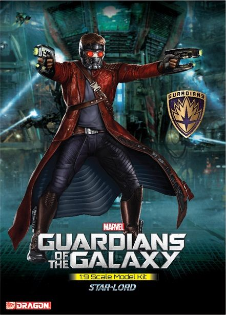 Guardians of the Galaxy: Star Lord 1/9 Scale Model Kit