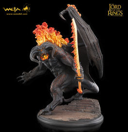 LOTR: The Balrog - Demon of Shadow and Flame 50 cm statue