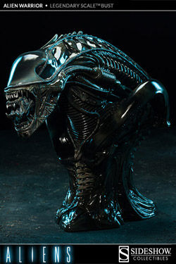 Aliens Busto Legendary Scale 1/2 Alien Warrior 34 cm