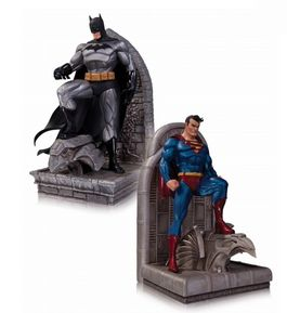 DC Comics: Superman & Batman Bookends