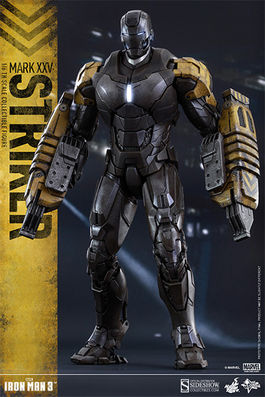 MMS277 Iron Man 3: Iron Man Mark XXV - Striker 1:6 scale figure