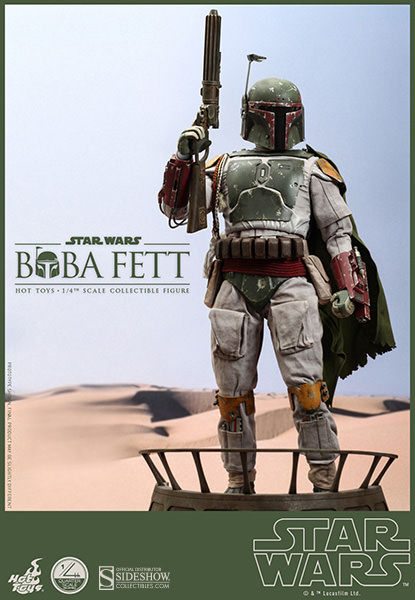 QS003 Star Wars: Boba Fett 1:4 Scale Collectible Statue