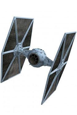Star Wars V The Empire Strikes Back Vehículo 1/18 Tie Fighter Elite Edition