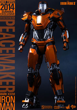 MMS258 Iron Man Mark XXXVI – Peacemaker