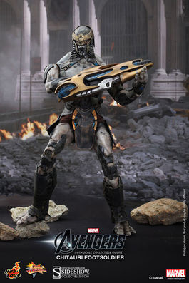 MMS226 The Avengers: Chitauri Footsoldier Sixth Scale Figure