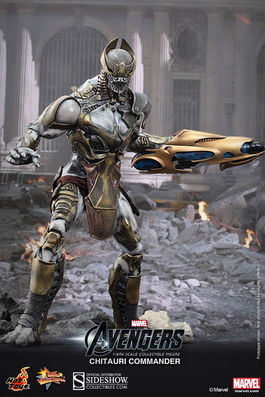 MMS227 The Avengers: Chitauri Commander Sixth Scale Figure