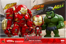 Avengers: Age of Ultron Cosbaby Series 1.5 - Collectible Set