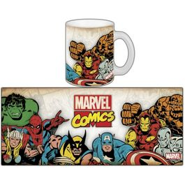 Mug Marvel Retro serie 1 - Marvel Group