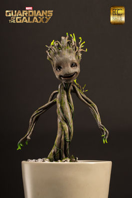 Guardians of the Galaxy: Dancing Groot 1:1 Maquette