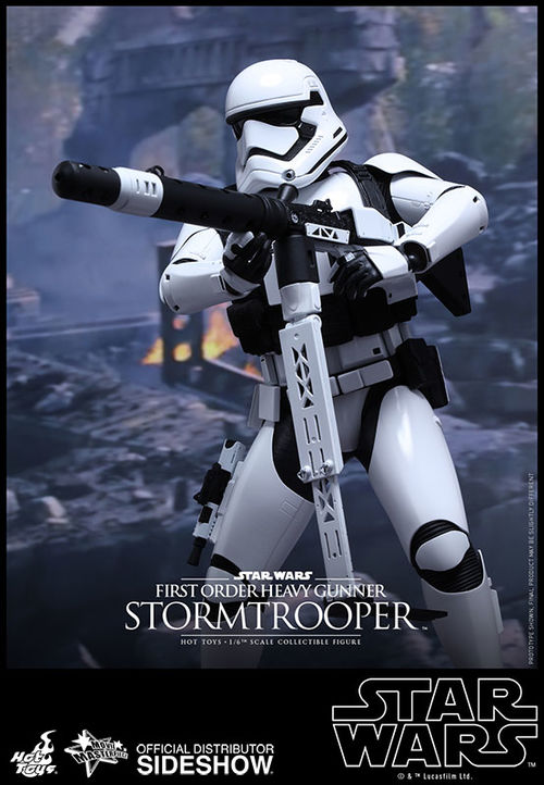 MMS318 Star Wars The Force Awakens: First Order Heavy Gunner Stormtrooper 1:6 scale figure