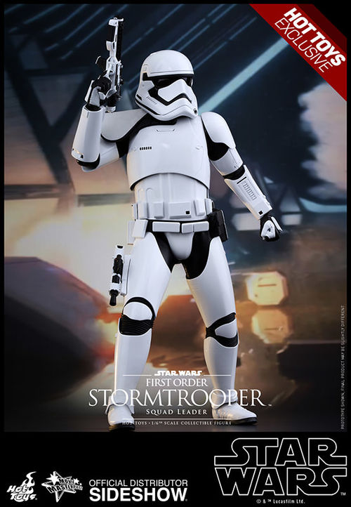 Star Wars The Force Awakens: First Order Stormtrooper Squad Leader 1:6 scale figure MMS316