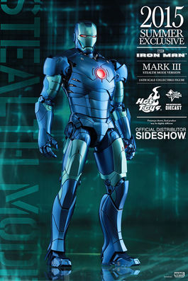 MMS314-D12 Iron Man: Mark III Stealth Mode Version Sixth Scale Figure 2015 Excl.