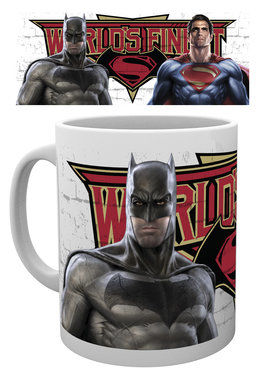 BATMAN VS SUPERMAN Worlds Finest MUG