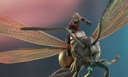 Ant-Man: Ant-Man on Flying Ant - MMS Compact Figure MMSC003