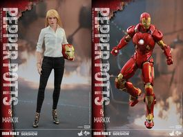 MMS311 Iron Man 3: Pepper Potts and Mark IX - Sixth Scale Figure Set
