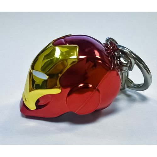Iron Man helmet - Semic Metal Keychain