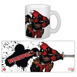 Mug Deadpool 02 - Slashing