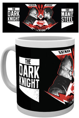 BATMAN VS SUPERMAN FACE OFF MUG