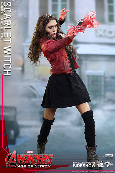 MMS301 Avengers: Age of Ultron - Scarlet Witch - Sixth Scale Figure
