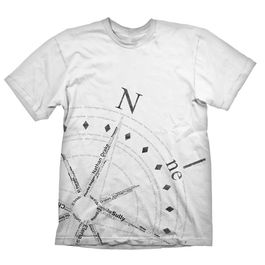 "Uncharted 4: A Thief's End T-Shirt Compass ""M"""