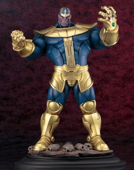 Marvel Comics Fine Art Estatua 1/6 Thanos 40 cm
