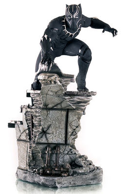 BLACK PANTHER 1/4 STATUE - CAPTAIN AMERICA : CIVIL WAR