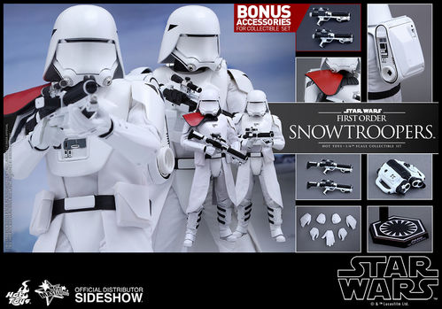 MMS323 Star Wars - Episode VII: First Order Snowtroopers 1:6 figure Set