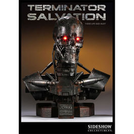 TERMINATOR SALVATION T-600 LIFE SIZE BUST