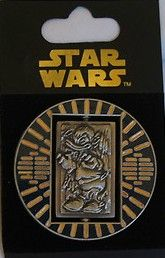 STAR TOURS PIN DONALD HAN SOLO