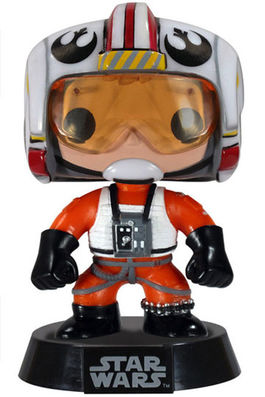 Star Wars POP! Vinyl Cabezón Luke Skywalker (X-Wing Pilot) 9 cm