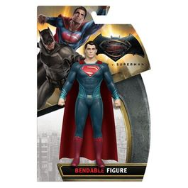 BATMAN VS SUPERMAN , SUPERMAN  BENDABLE ACTION FIGURE 14CM