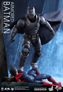 MMS349 DC Comics: Armored Batman Sixth Scale Figure