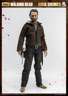 The Walking Dead: Rick Grimes 1:6 Scale Figure
