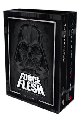 Star Wars Libro The Force in the Flesh Volume I and II